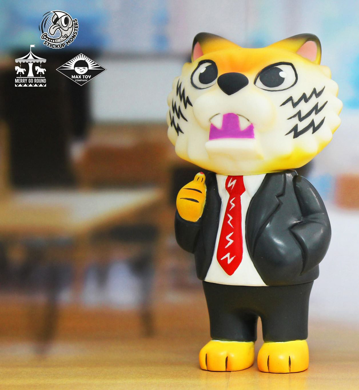 Pre Order - New Tiger Boss Javier Jimenez x Merry Go Round x Max Toy Company