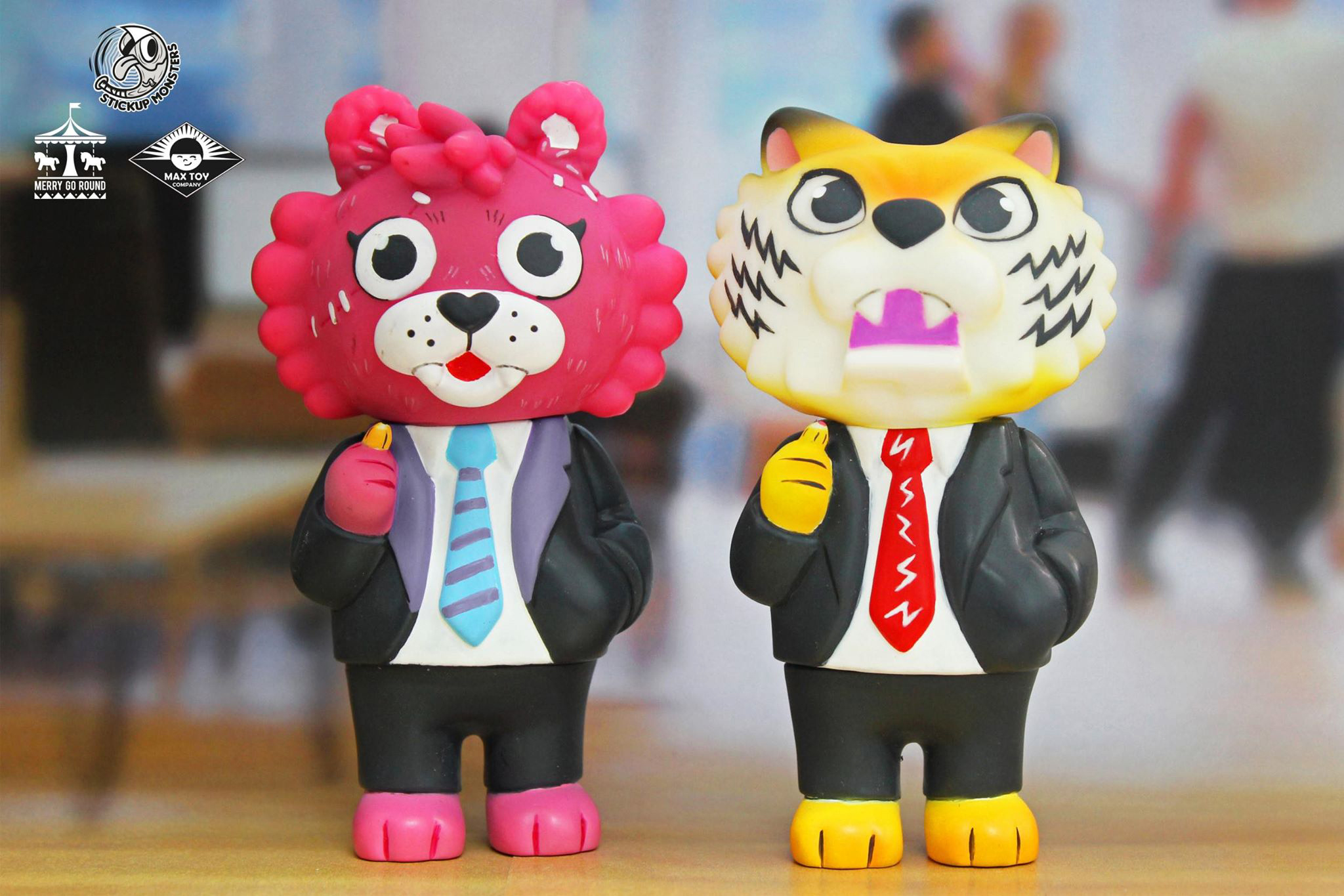 Pre Order - SET - New Tiger Boss & FAKE Tiger Boss  Javier Jimenez x Merry Go Round x Max Toy Co