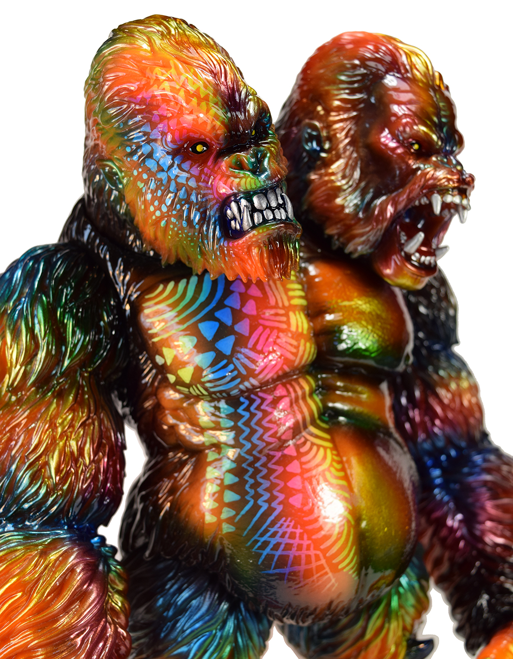 Custom Tribal Death Goliathon APE Planet X x Mark Nagata
