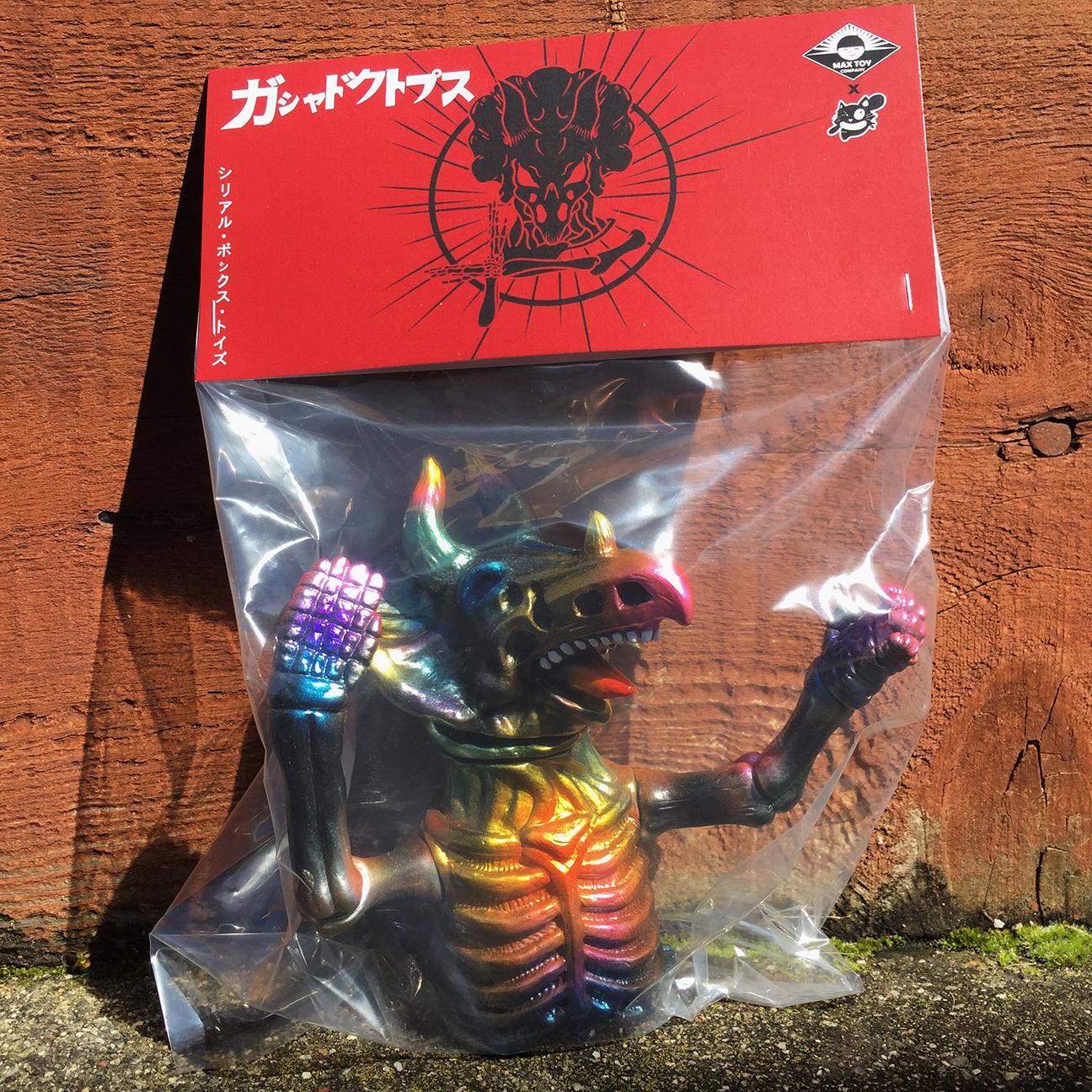 Custom Gashadokutops Cereal Box Toys x Mark Nagata C type