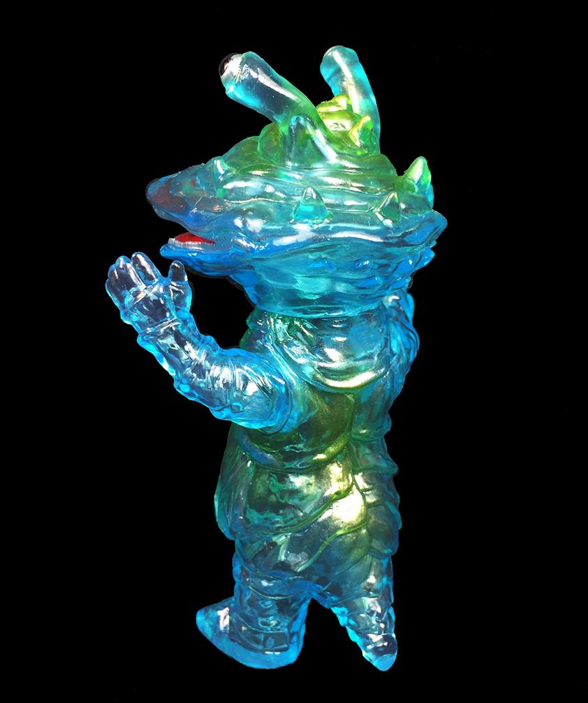 Clear Blue Kanegon Kaiju Tsuburaya Pro x Max Toy Kaiju Soko series