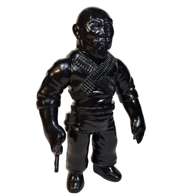 Ninja Black Gerald Okamura Man Of Many Weapons with Ninja Star