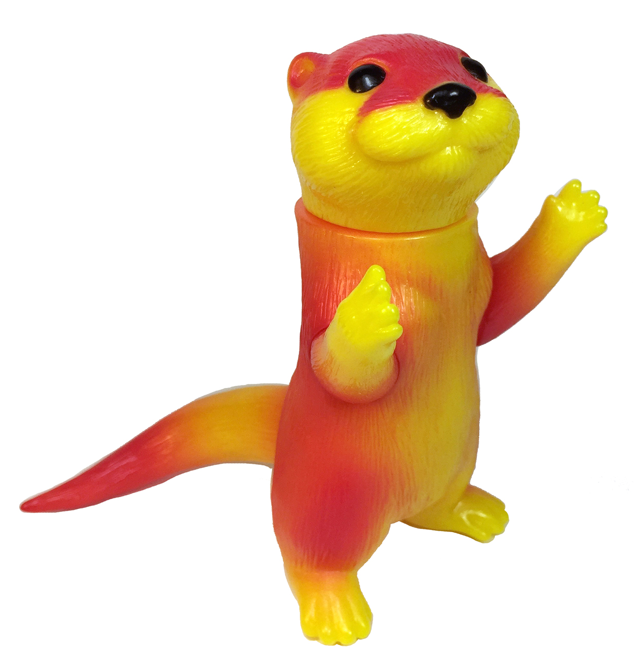 Ollie Otter Bright Yellow version Cute kaiju