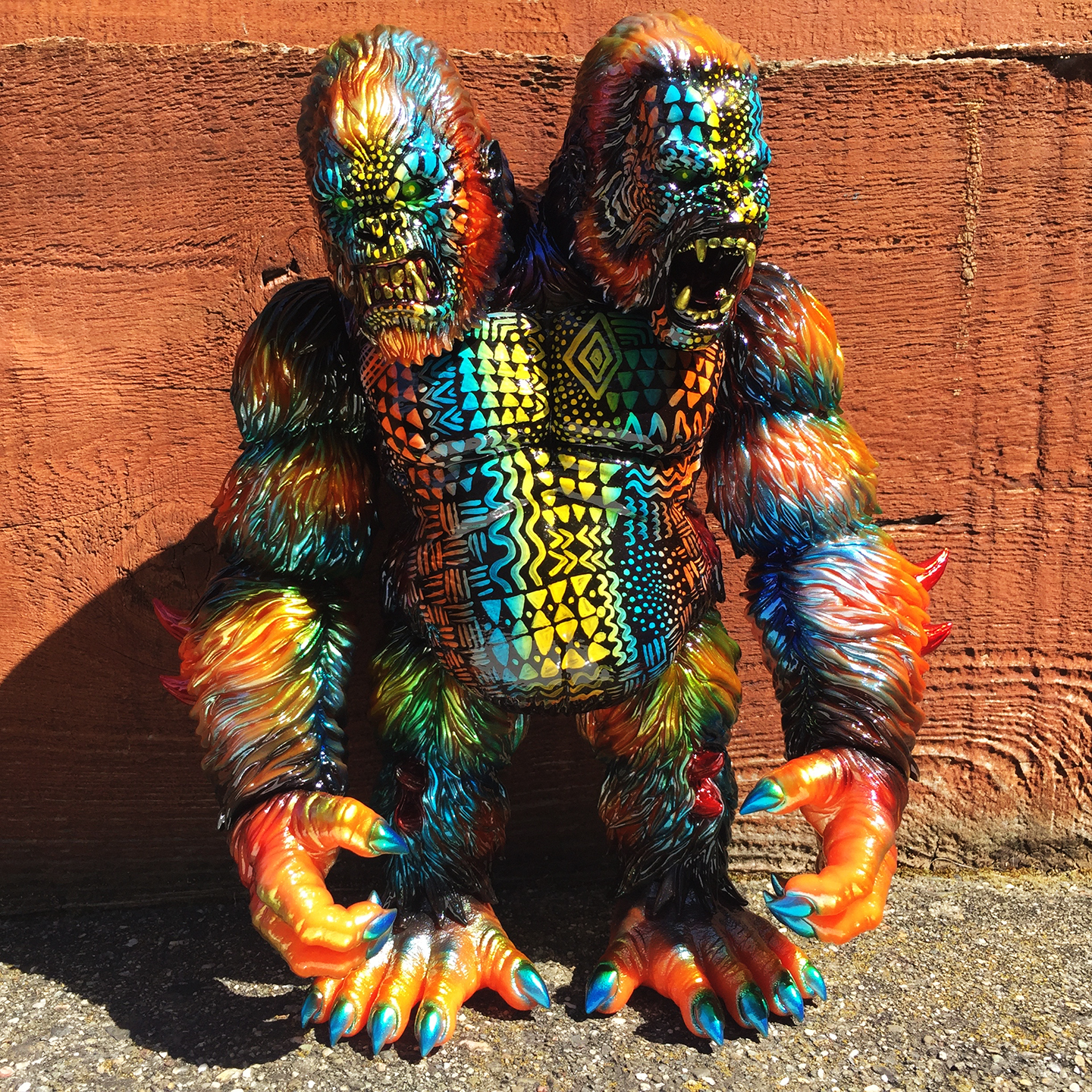 Custom Death Goliathon APE Planet-X x Mark Nagata Full Tribal
