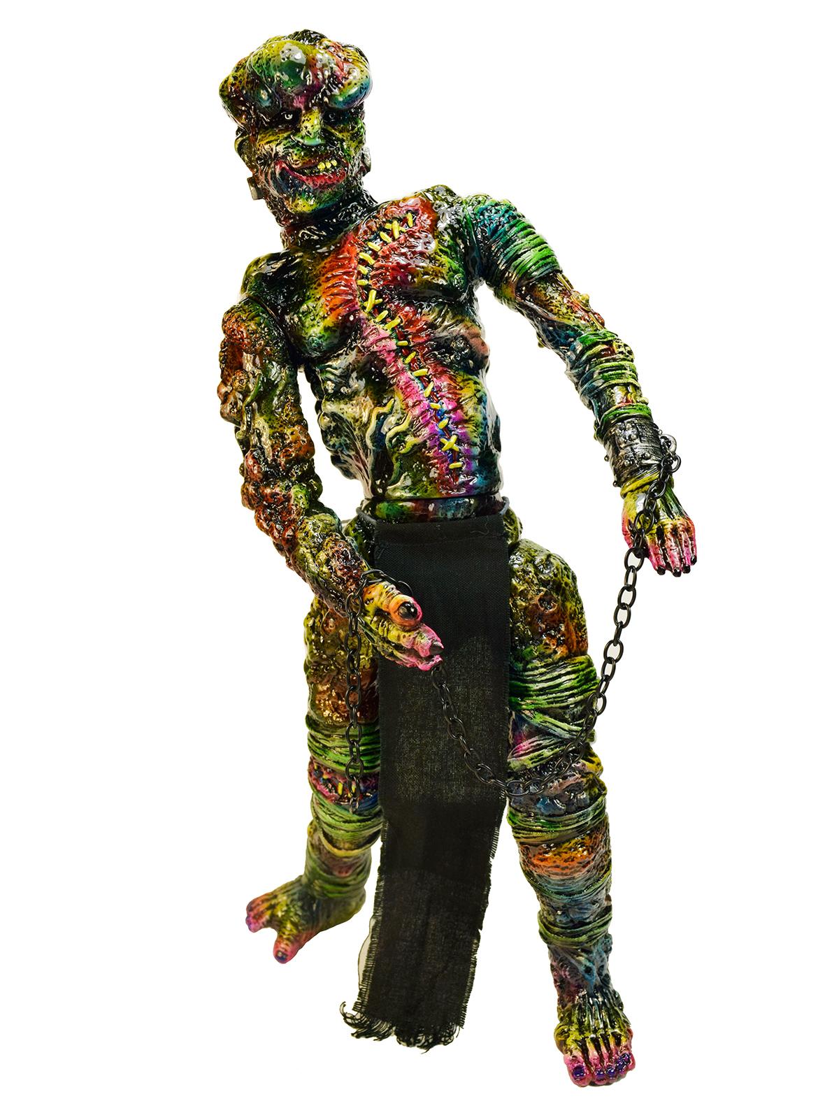 FrankenMerrick Horror Color Custom paint Mark Nagata x Miscreations