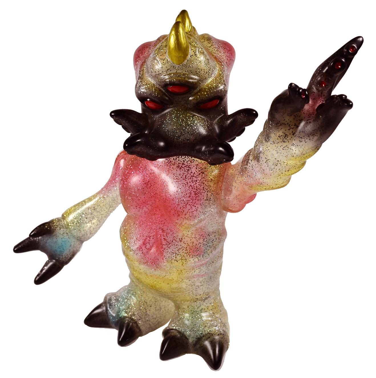 Kaiju TriPasu Mark Nagata glitter sofubi