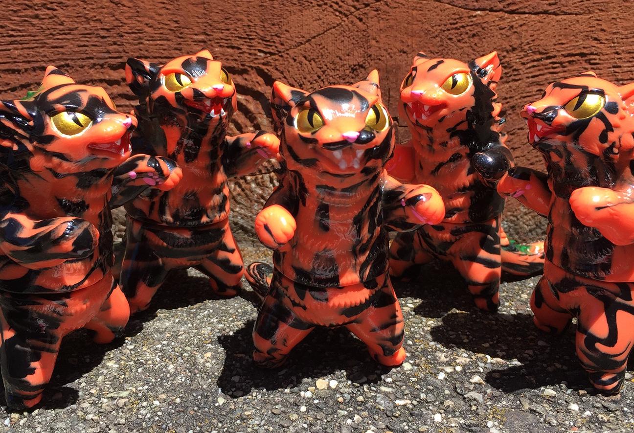Kaiju Con 2019 Kaiju Cat Negora exclusive cute