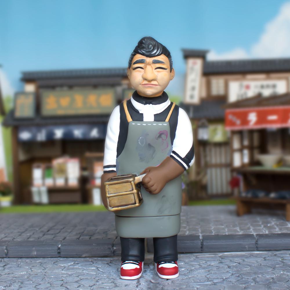 """Sofubi-man Custom Show Javier Jiménez  """"New Age Sofubi Man"""""""