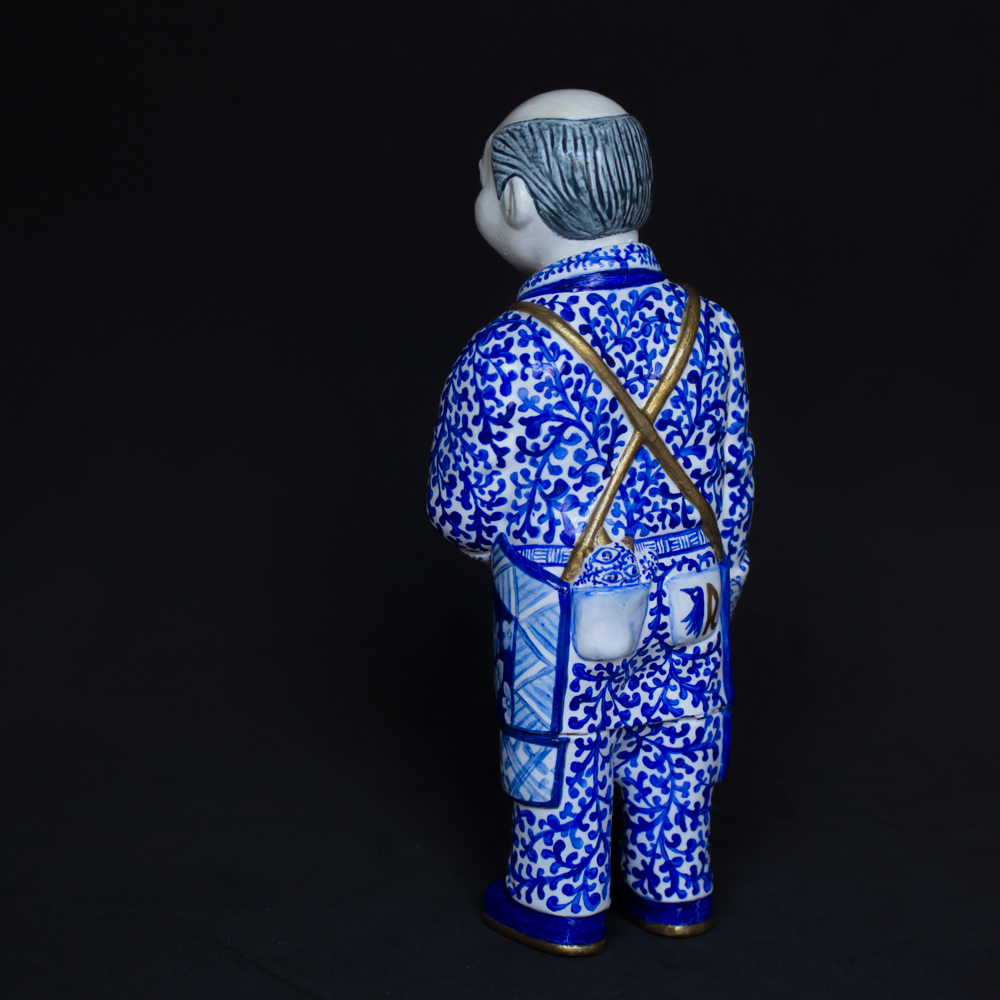 "Sofubi-man Custom Show Cristina Ravenna ""Nights from The Alhambra"""
