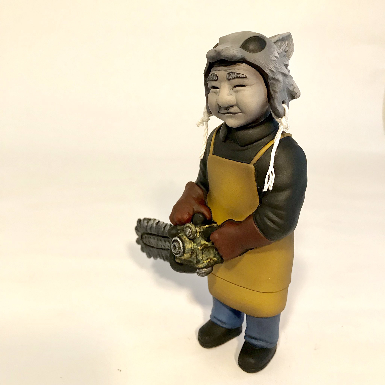 Sofubi-man Custom Show Jay222 Tokyo Chainsaw massacre