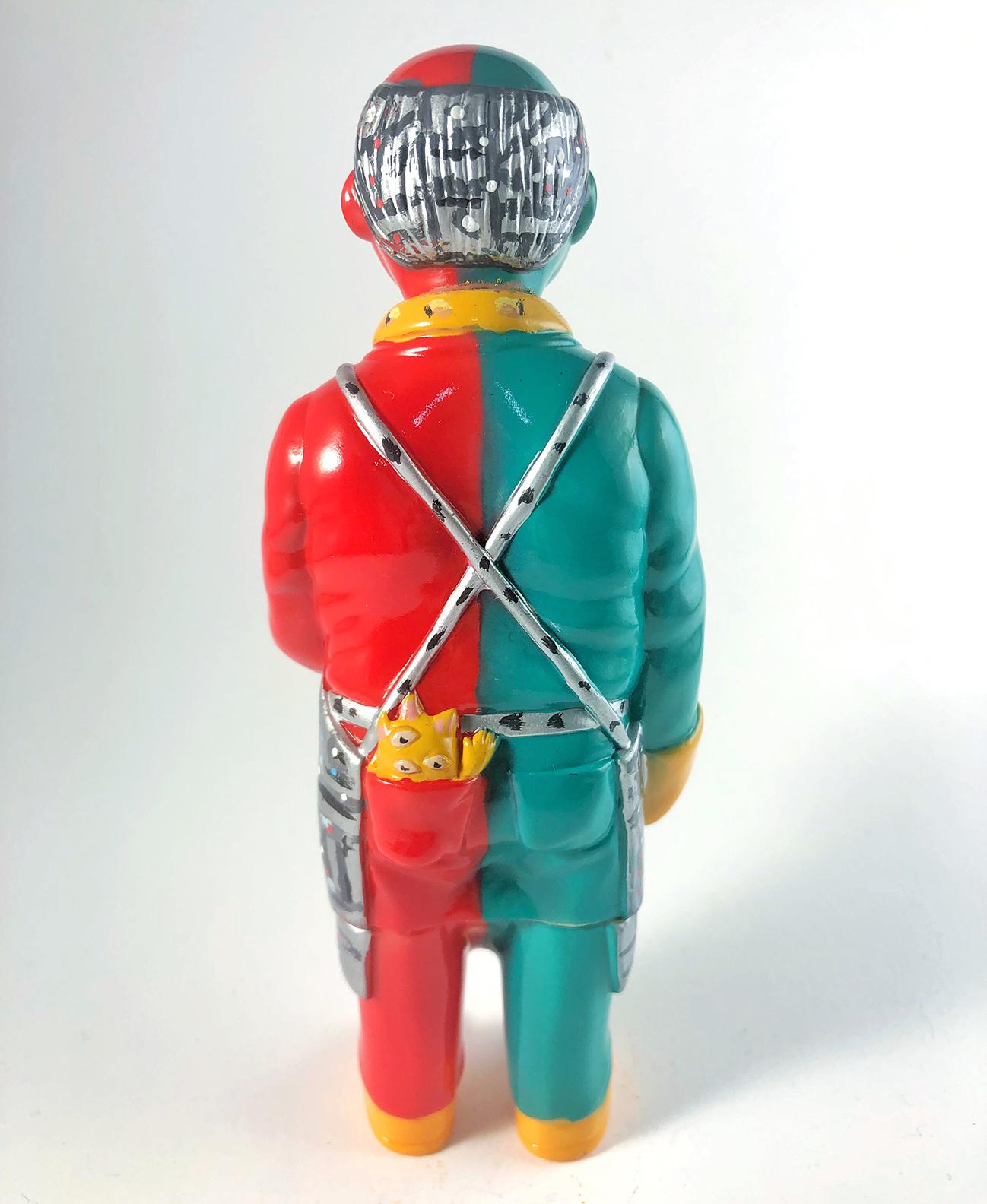 Sofubi-man Custom Show Nick & Lindsay DiFabbio Kikaida Robot cosplay