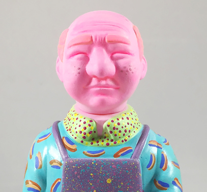 Sofubi-man Custom Show Mary Ruth Butterworth Sugar Rush
