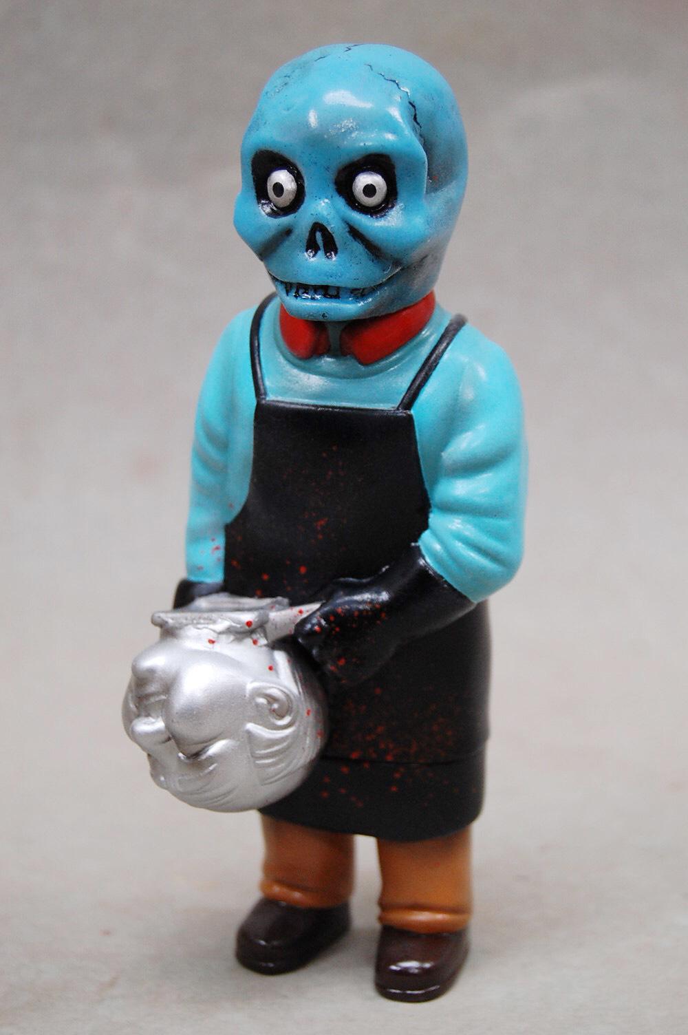 Sofubi-man Custom Show Sunguts Craftsman from Hell