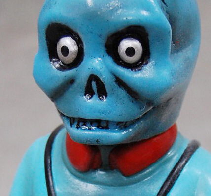 Sofubi-man Custom Show Sunguts Craftsman from Hell