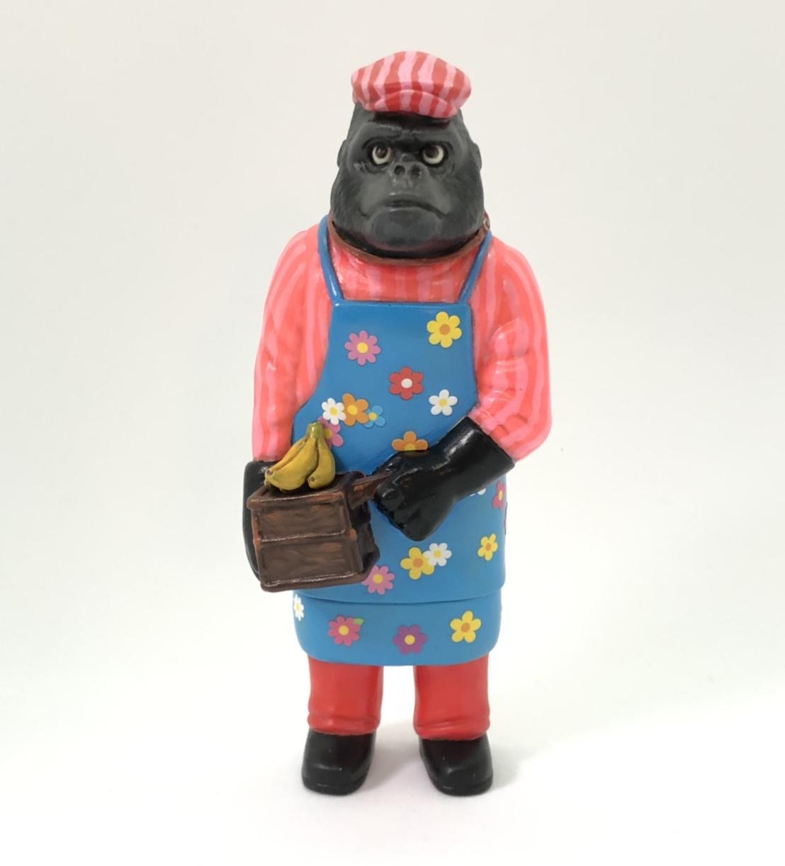 Sofubi-man Custom Show Pico Pico Bananas Ape
