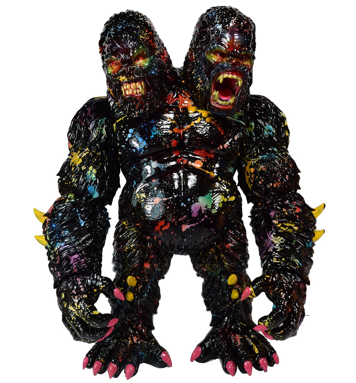 Custom Splatter Death Goliathon APE Planet-X x Mark Nagata