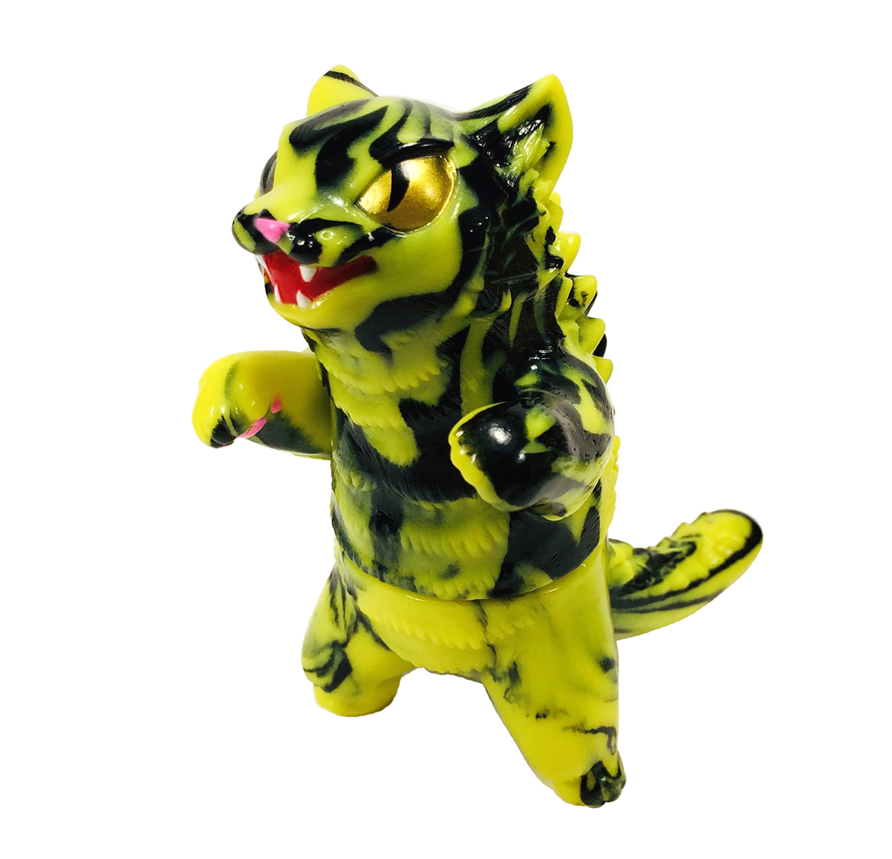 Marbled Mini Kaiju Negora Cat
