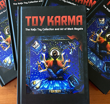 Toy Karma hardcover book Mark Nagata's Kaiju Journey...
