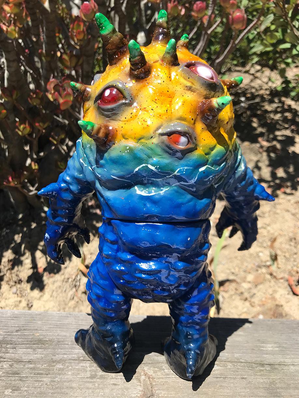 Kaiju Eyezon Seaside Max Nagata painted custom
