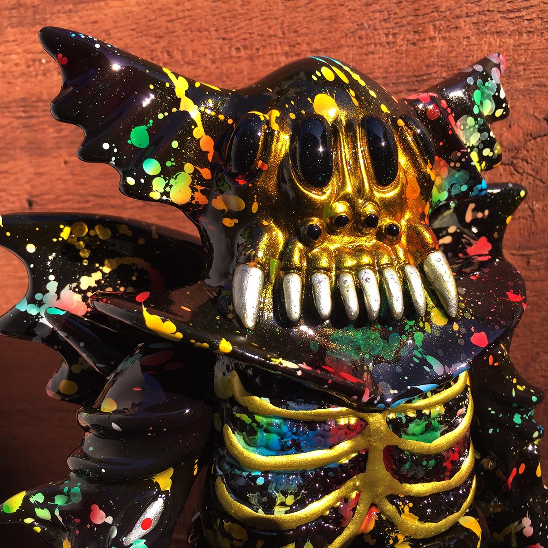 Magitarius Splatter Arakus Kaiju custom painted by Mark Nagata