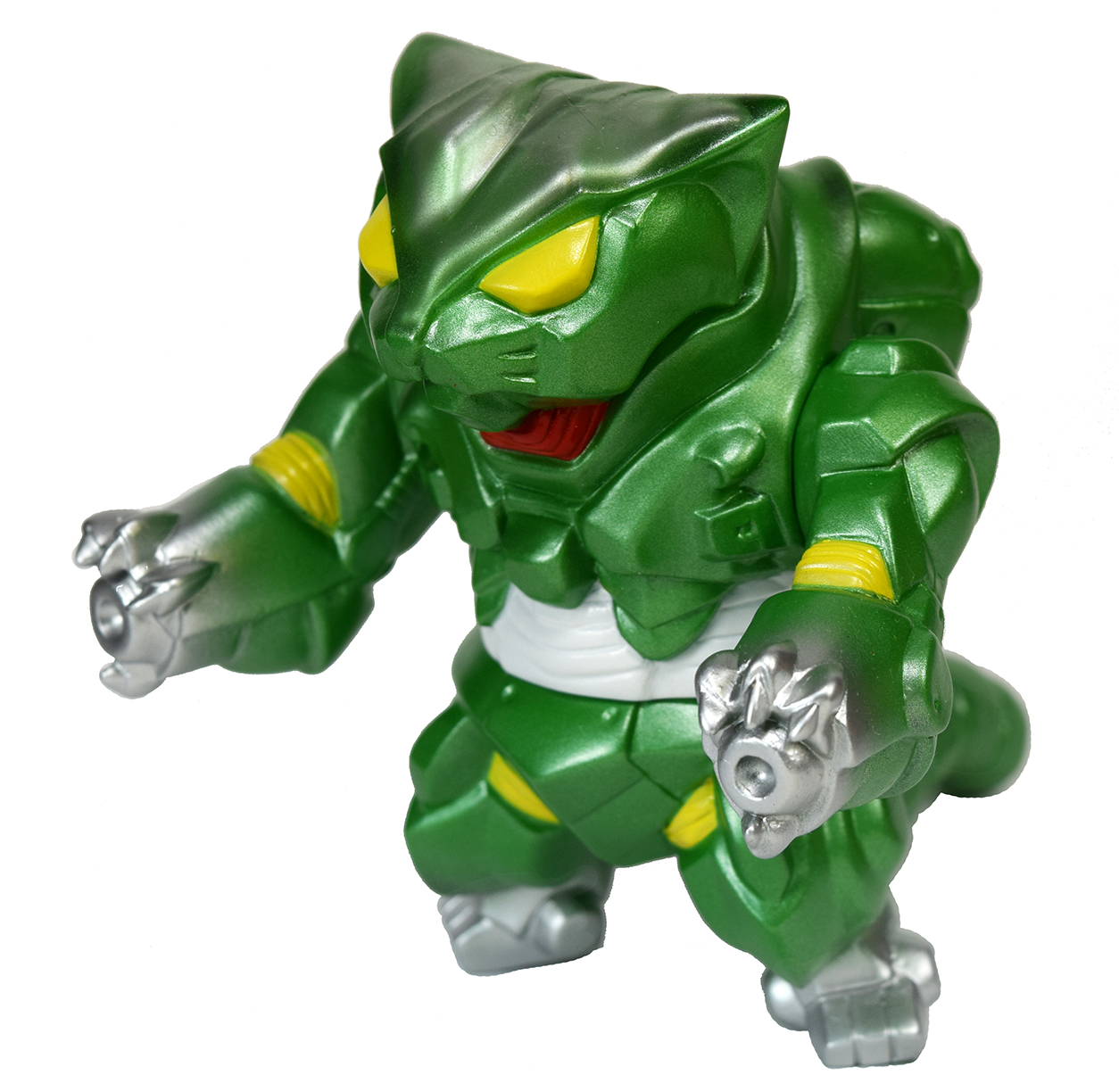 Mecha Nekoron MK3 Cat kaiju green