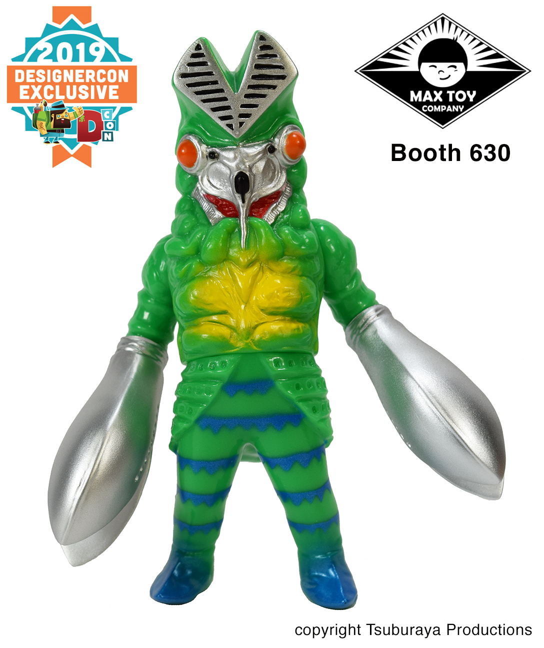 Dcon exclusive Alien Baltan kaiju Tsuburaya Productions