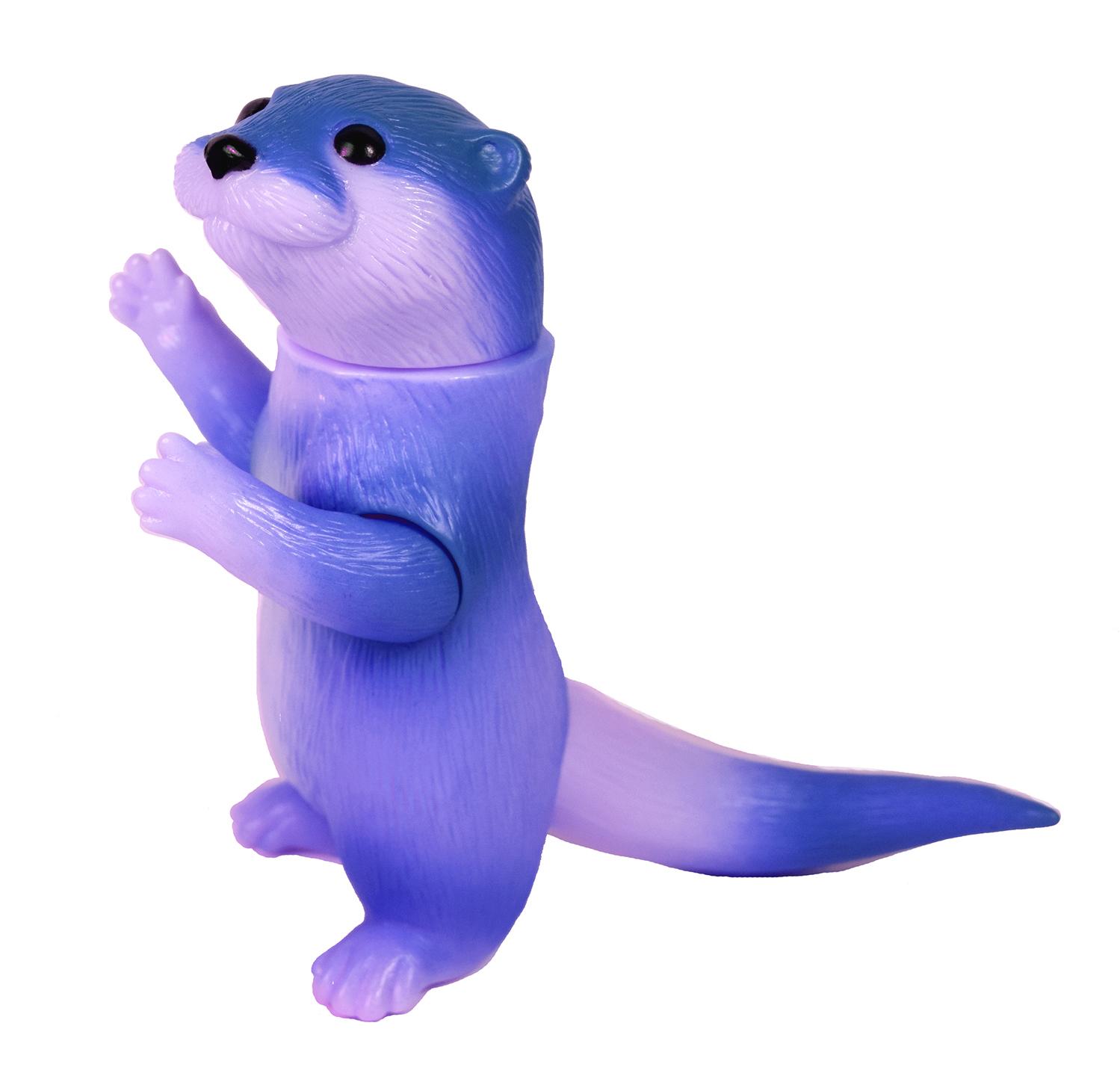 Ollie Otter Lavender cute sofubi Dcon