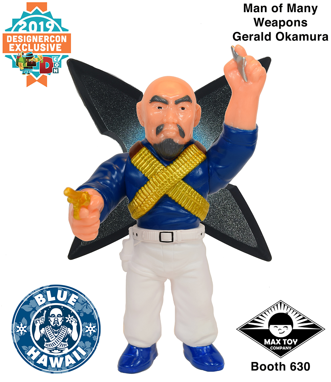 Dcon 2019 Man of Many Weapons Gerald Okamura exclusive