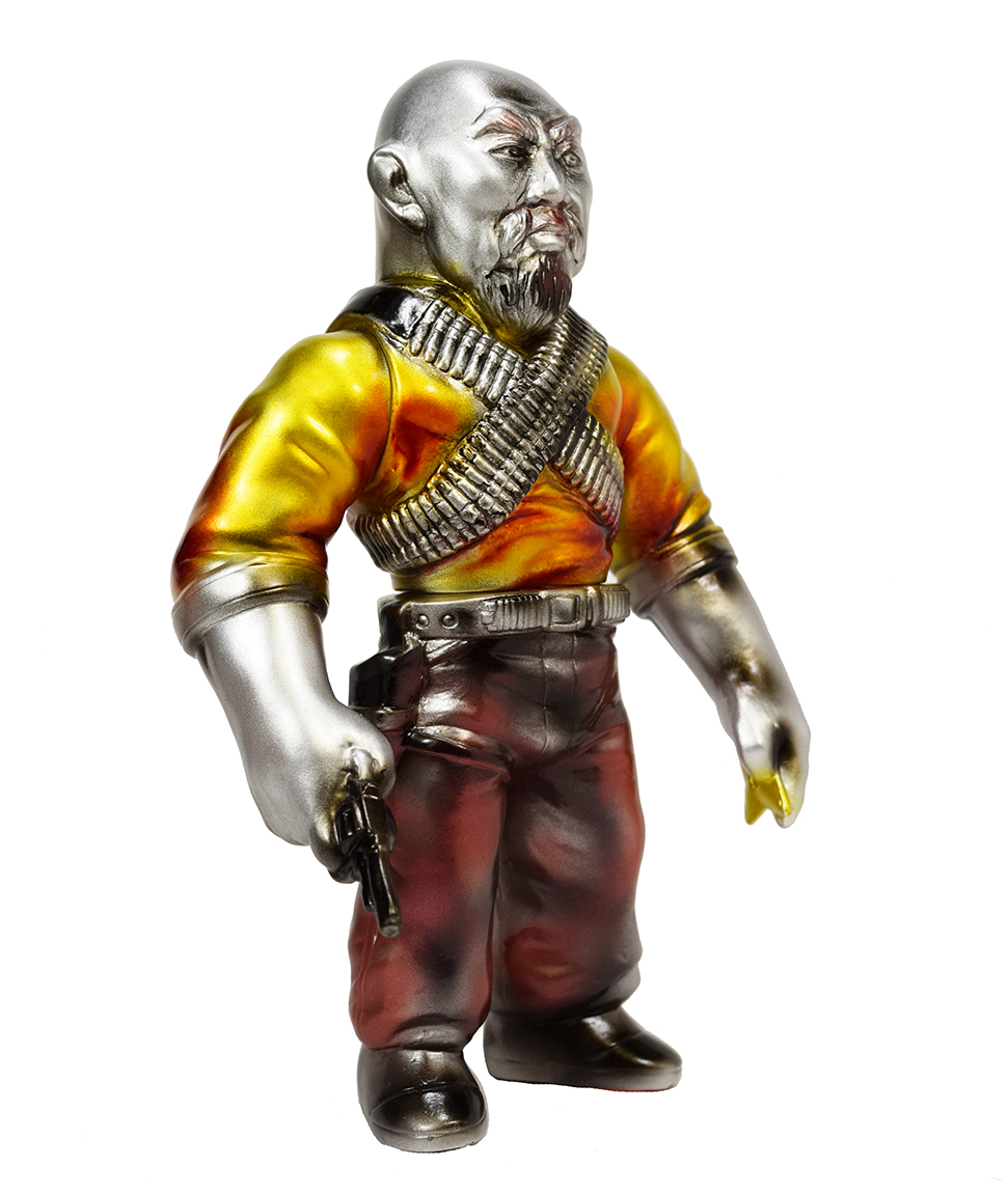 Man Of Many Weapons Gerald Okamura BlobPus Metallic