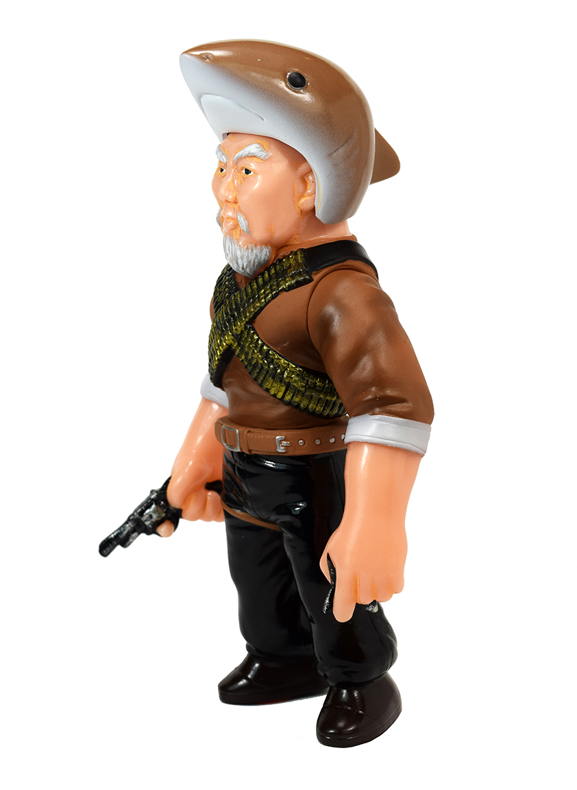 Man Of Many Weapons Gerald Okamura Sunguts Shark Hat