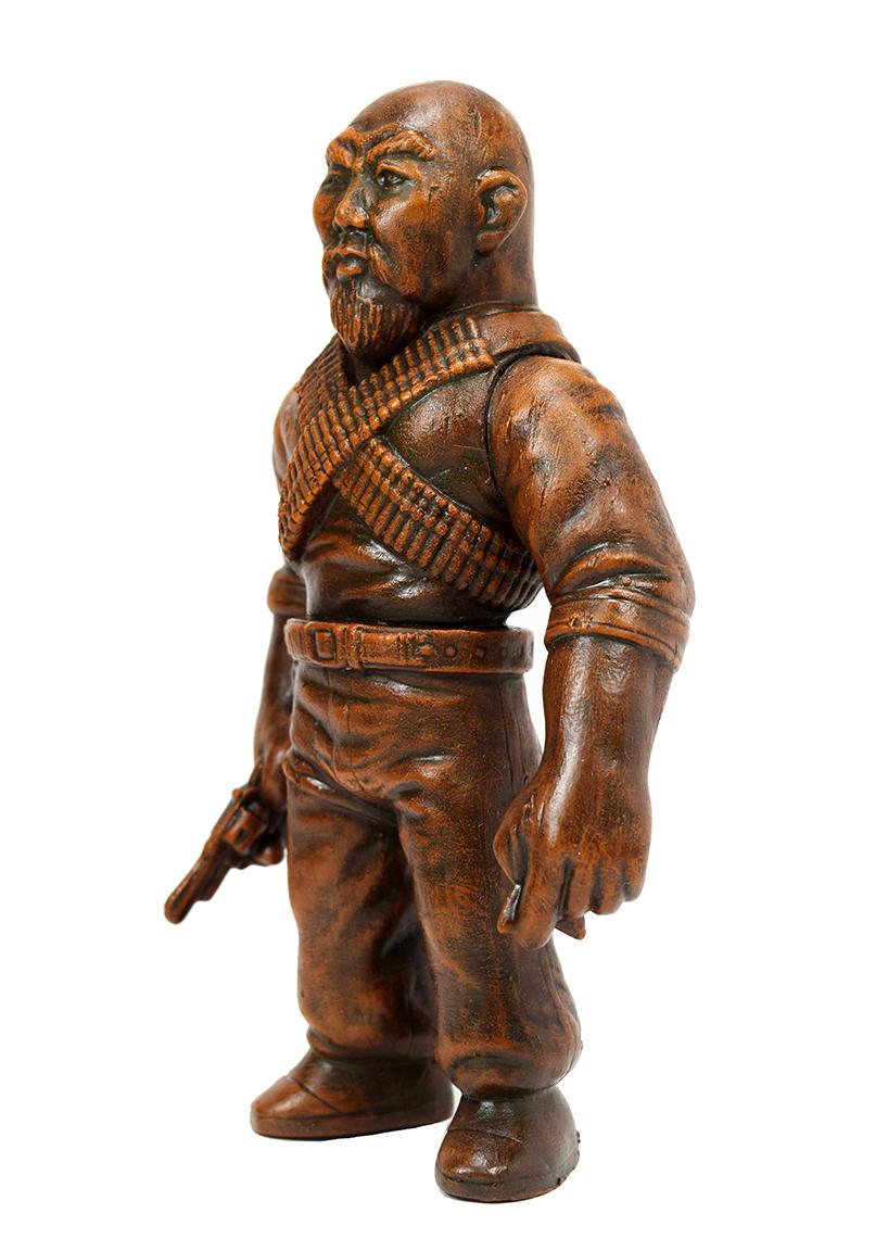Man Of Many Weapons Gerald Okamura Seth Longmire Wooden God