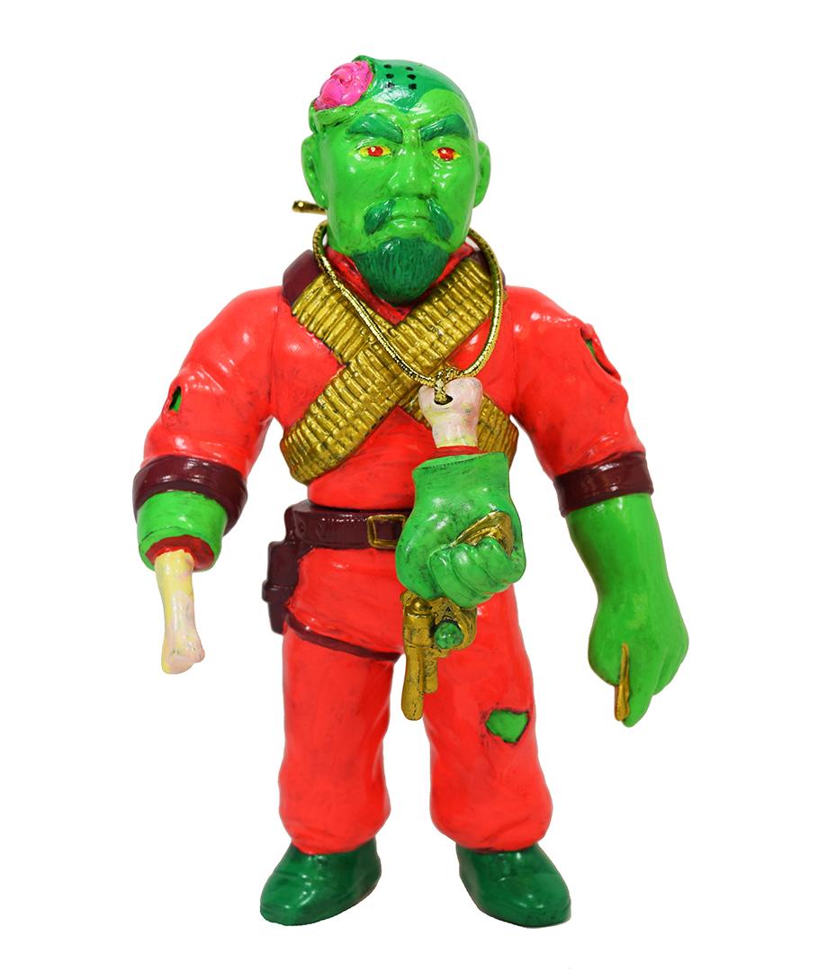 Man Of Many Weapons Gerald Okamura Hyperactive Monkey Zombie
