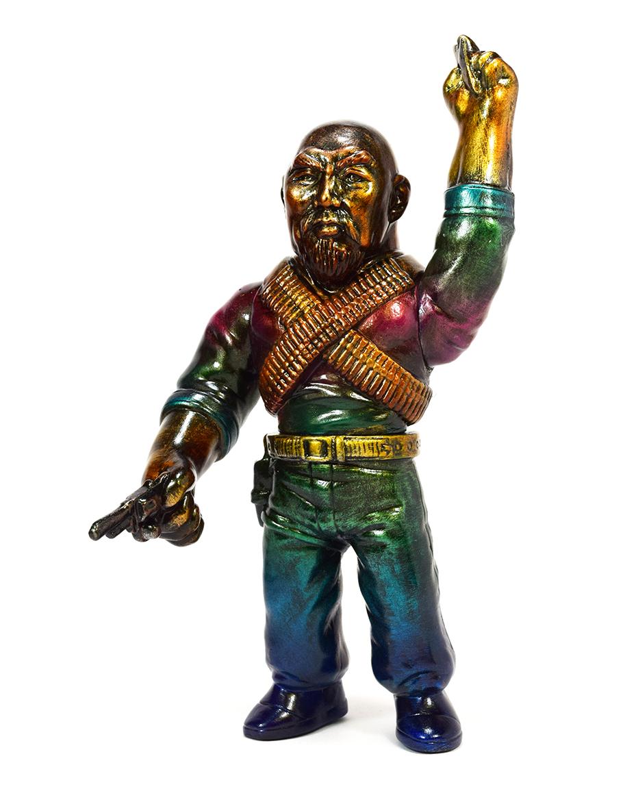 Man Of Many Weapons Gerald Okamura Nick & Lindsay DiFabbio Oil Slick