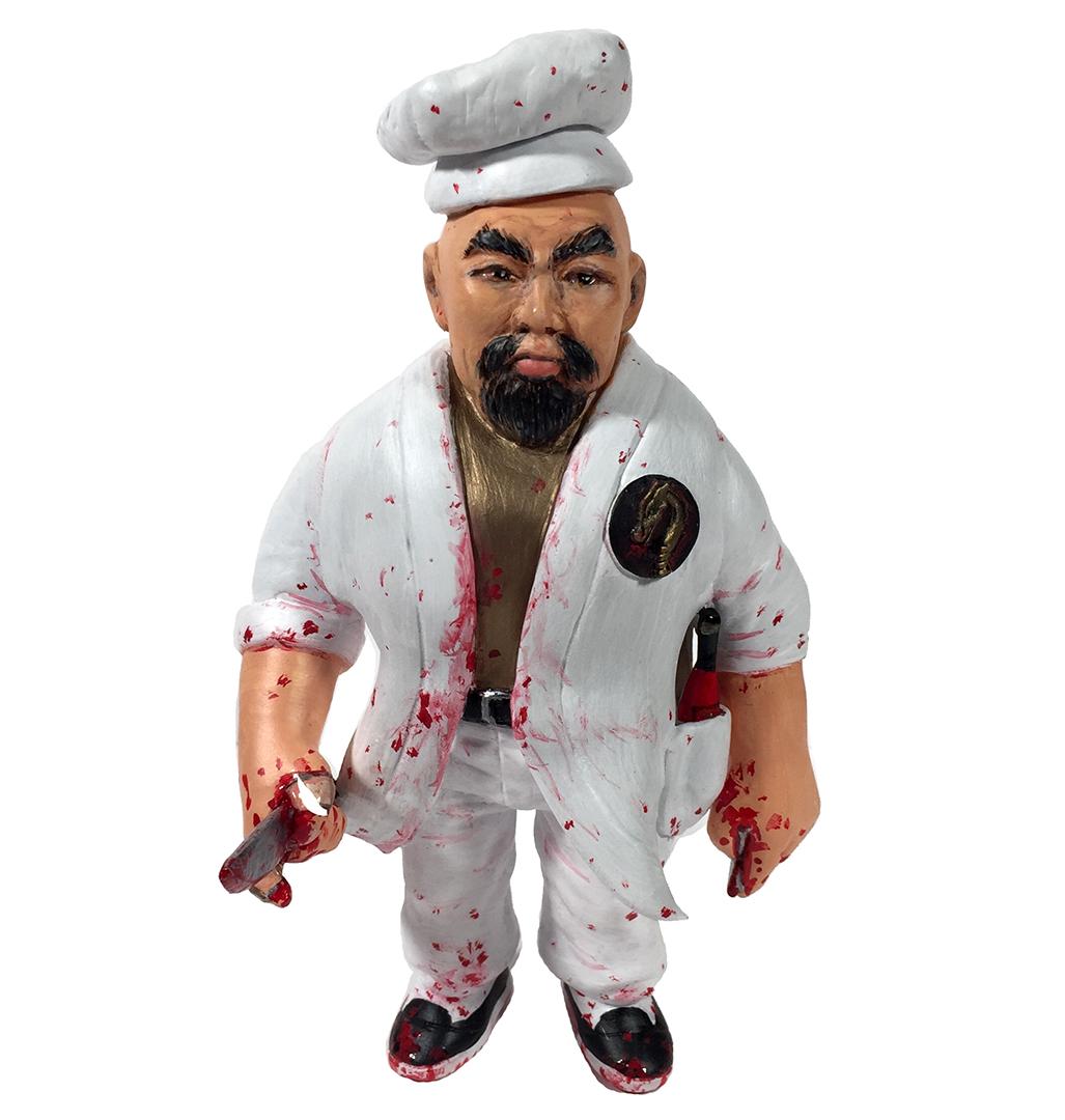 Man Of Many Weapons Gerald Okamura Maya Doka Kaiju Chef