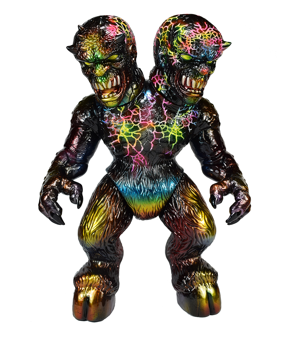 Custom Ettin 2 headed Planet-X x Mark Nagata kaiju
