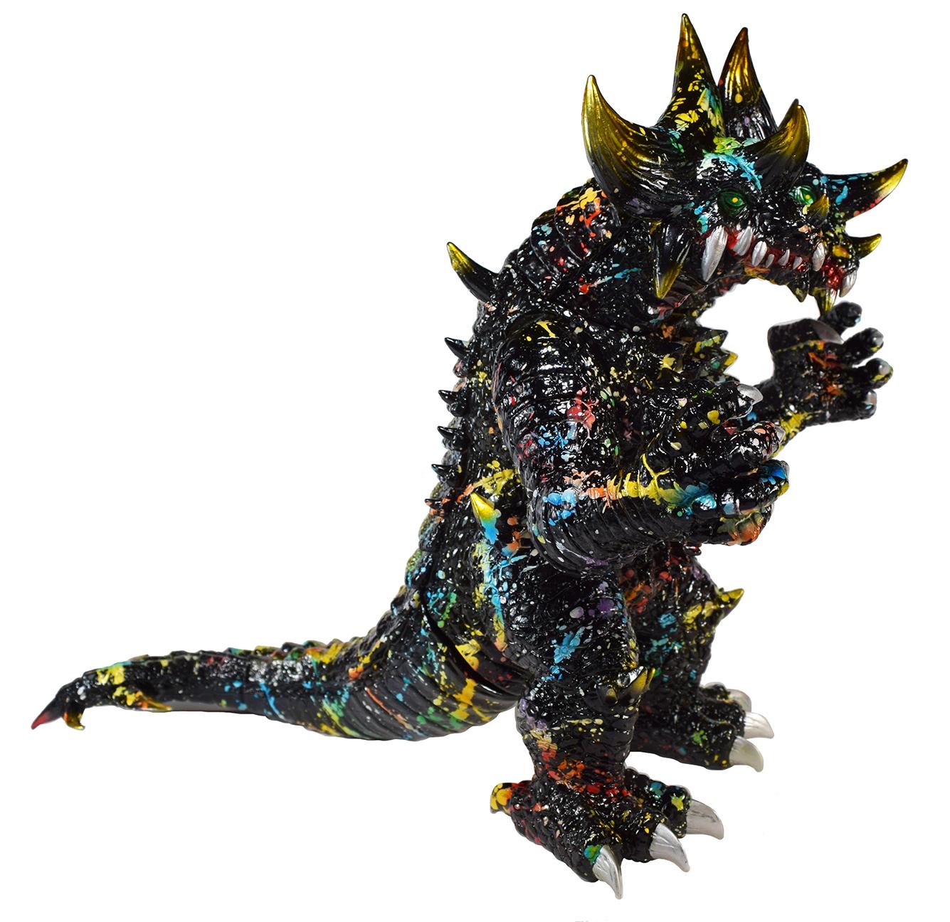 Custom Splatter Dino Gosaura 2 headed Planet-X x Mark Nagata