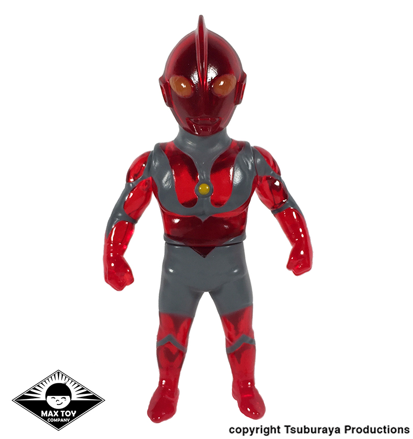 Clear Red Ultraman Tsuburaya Productions x Max Toy Company
