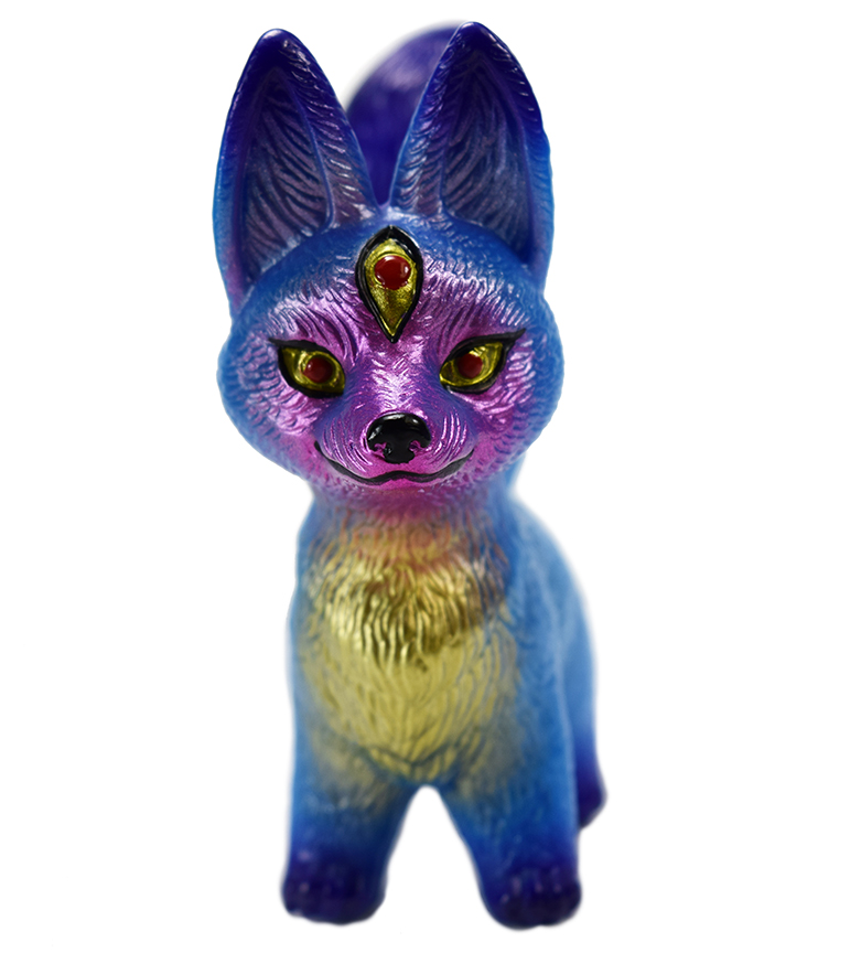 Kitsura fox micro run Mark Nagata paints