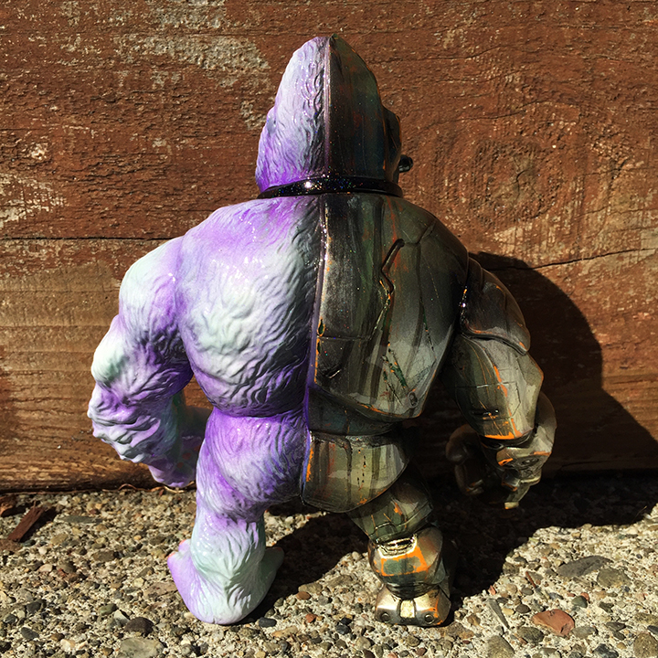 Custom Crusher G painted by Mark Nagata kaiju