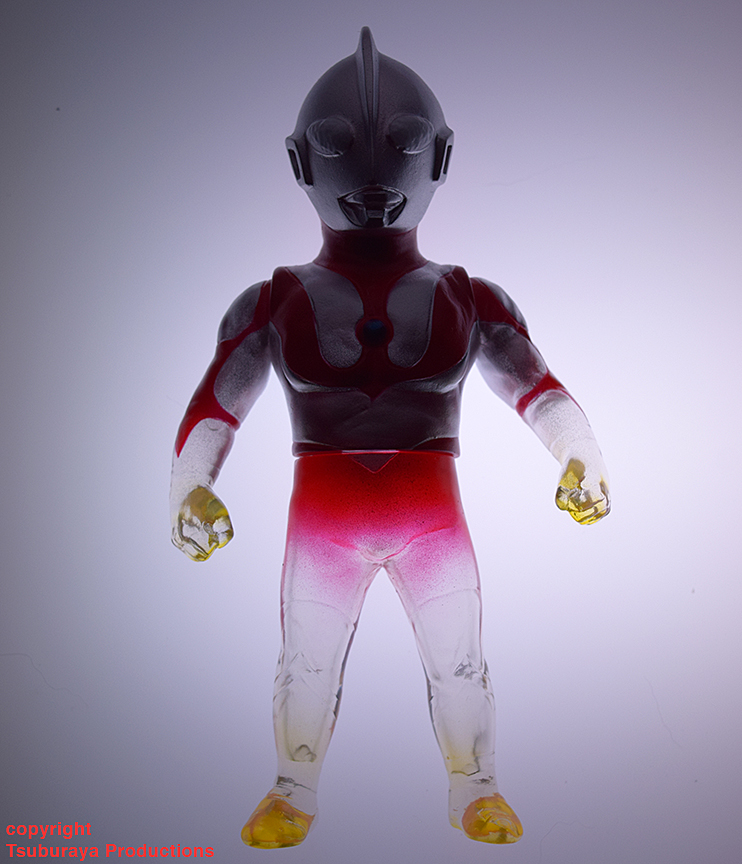 Transformation Ultraman Tsuburaya Productions x Max Toy sofubi Hero
