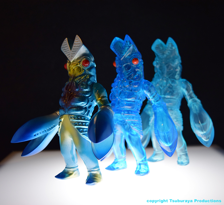 Alien Baltan transformation set Version 2 Tsuburaya Productions x Max Toy