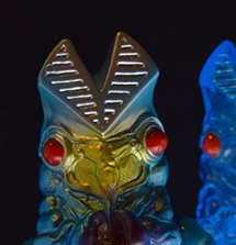 Alien Baltan transformation set Version 2 Tsuburaya...