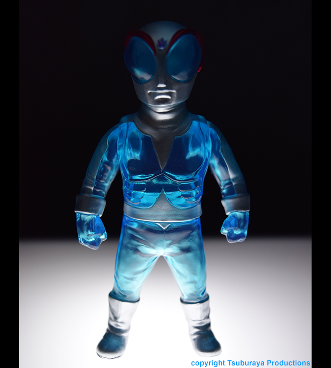 Blue Fire Fireman Tsuburaya Productions x Max Toy hero