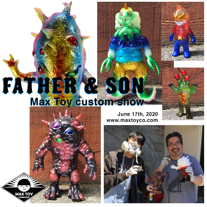 Father & Son Custom show June 17th 2020