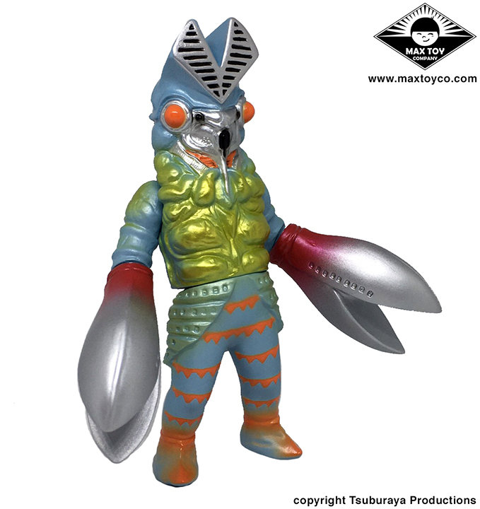 Alien Baltan Tsuburaya Productions x Max Toy kaiju