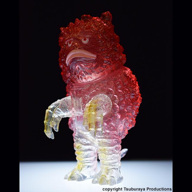 Kaiju Garamon Max Toy x Tsuburaya Productions Ultra Q clear