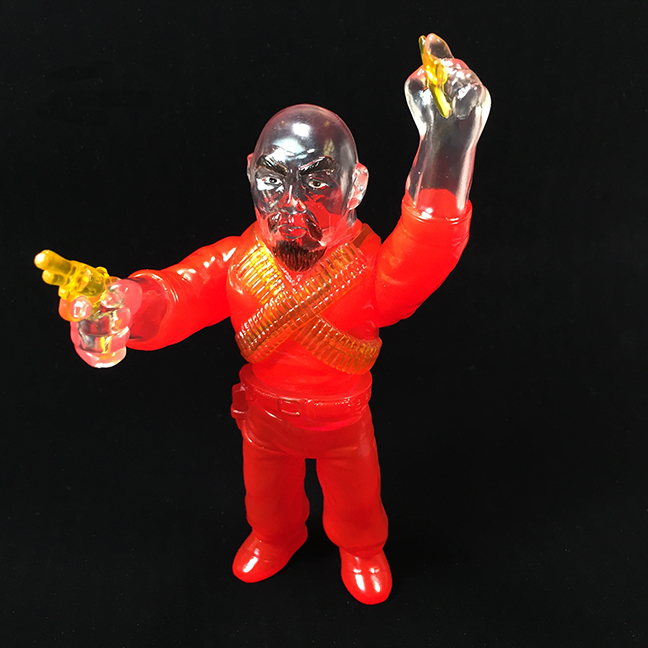 """Pre Order - Clear Red Ghost Gerald Okamura """"Man of Many Weapons"""""""