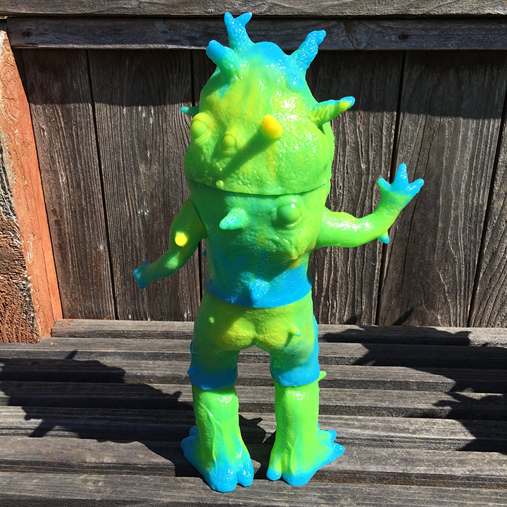 Max toy 15 Exclusive Slime Kaiju Eyezon Giant sized Max Toy x Squibbles Ink / EW factory