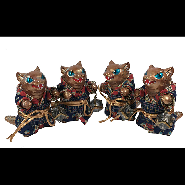 Kimono Kaiju Cat Negora customs Seth & Laura Longmire