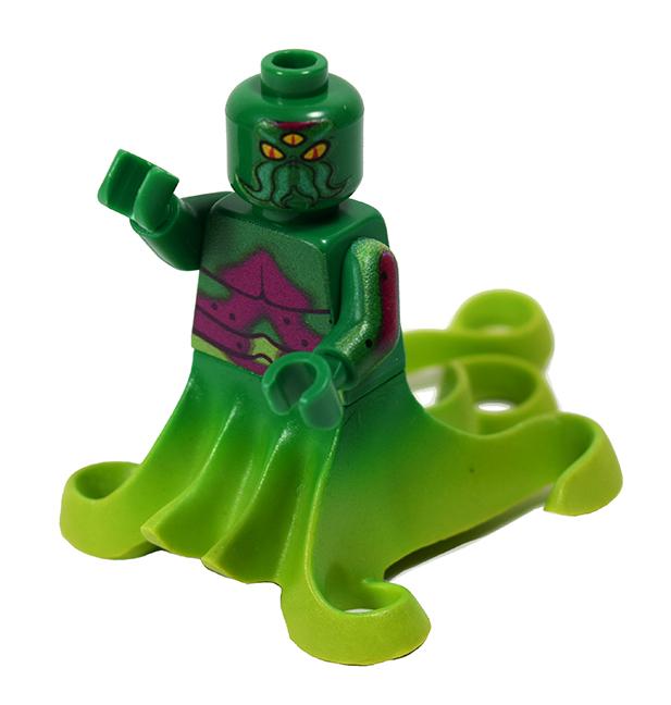 Kaiju TriPus mini figure custom printed Max Nagata